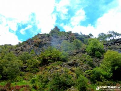 Ruta Cares-Picos de Europa; puente marzo pantano de la jarosa bosque de valsaín canchal de la ceja
